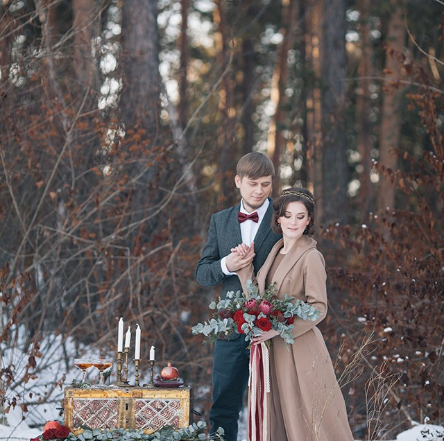 Экскурсия по красотам зимней свадьбы: 7 остановок по дороге в сказку. Часть 2.