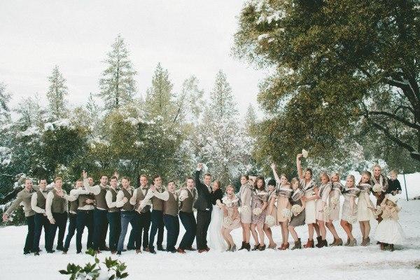 Что одеть на свадьбу девушке зимой