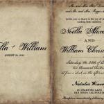 Идеальное приглашение на свадьбу