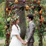 Секреты очарования осенней свадьбы