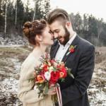 Стильные акценты ноябрьской свадьбы