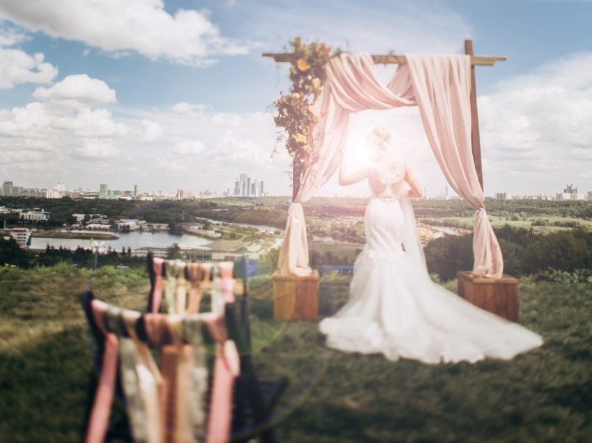 Свадьба в мае хорошая примета! Скидка 30% на аренду.