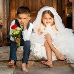 Дети на свадьбе: неожиданный сценарий события
