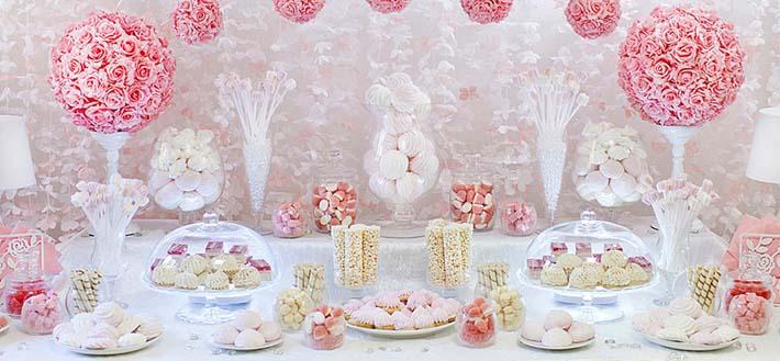Кэнди-бар на свадьбе – зона сладкого притяжения