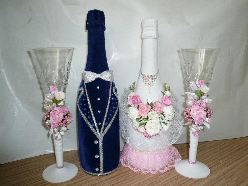 Где взять эксклюзивные свадебные бокалы?