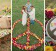Свадьба в стиле хиппи.