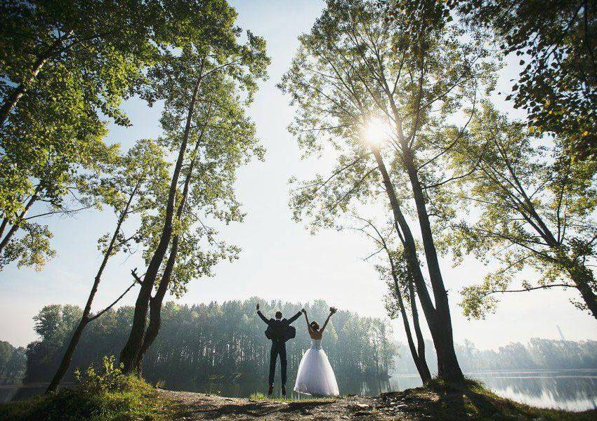 Свадьба на природе: «за» и «против»