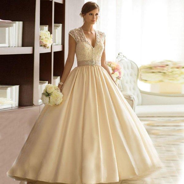 Красивые пышные свадебные платья: модели, тренды и фото 2017   600x600