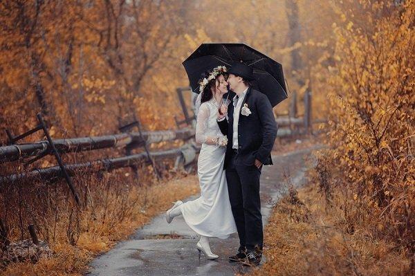Как выбрать площадку для осенней свадьбы?