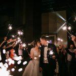 Яркий и эффектный финал вашей свадьбы