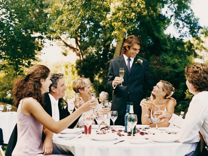 Гости на свадьбе: с заботой и любовью. Часть 1