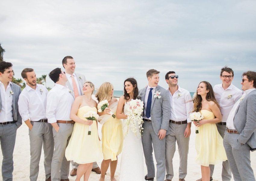 Подружки невесты и друзья жениха: выбираем образы. Часть 1.