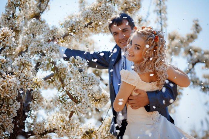 Свадьба весной: секреты очарования