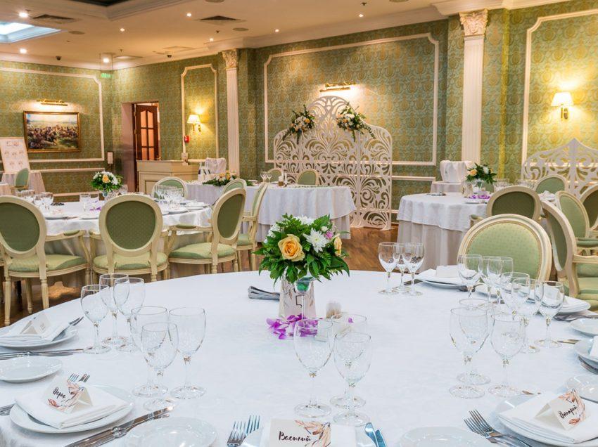 Акции на свадьбы в 2020 году в отеле «Бородино»