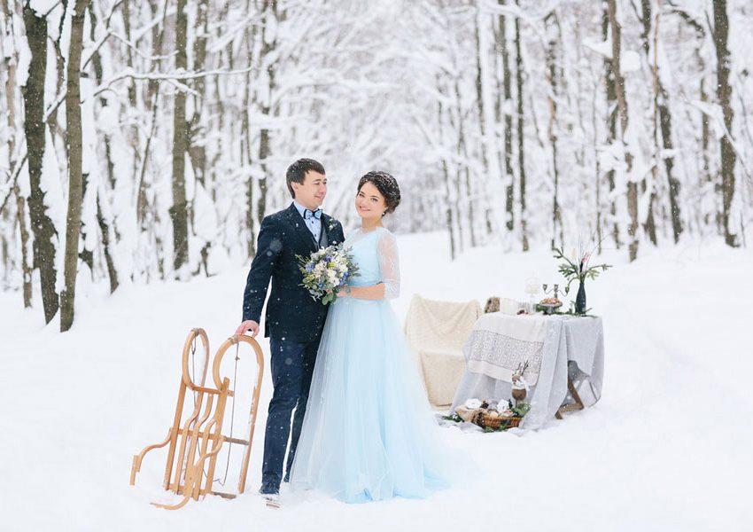 Свадьба в декабре. Преимущества и приметы