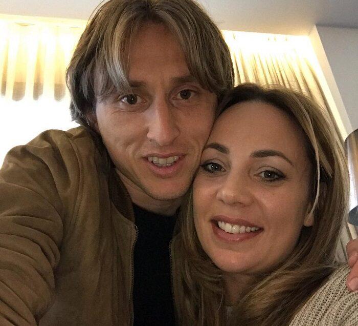 Лука Модрич и его любимая Ваня