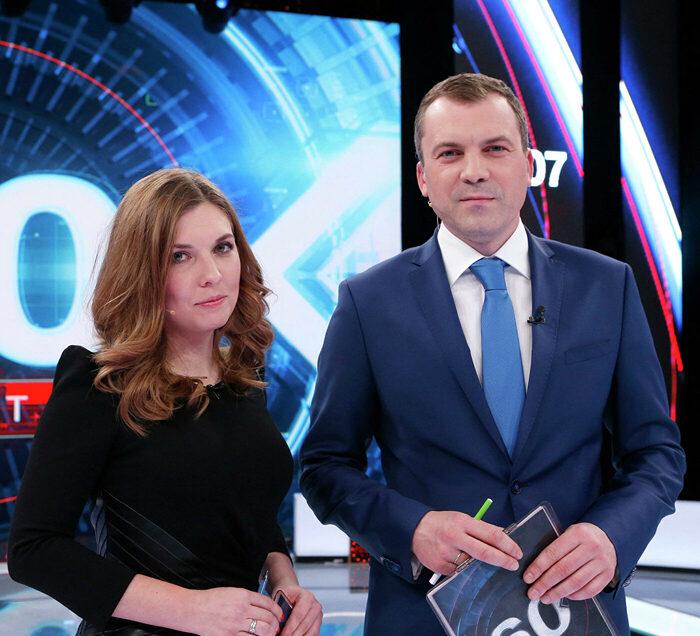 Тележурналисты Попов и Скабеева: свадьба в США в перерыве между репортажами