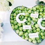 Важные советы по организации фруктовой свадьбы