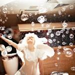 Мыльные пузыри на твоей свадьбе