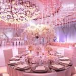 Цветная свадьба в розовом: романтично и нежно!